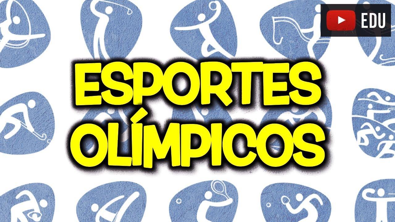 0715deec4 🏀🏐⚽ Nomes em inglês de todas as modalidades dos Jogos Olímpicos ...