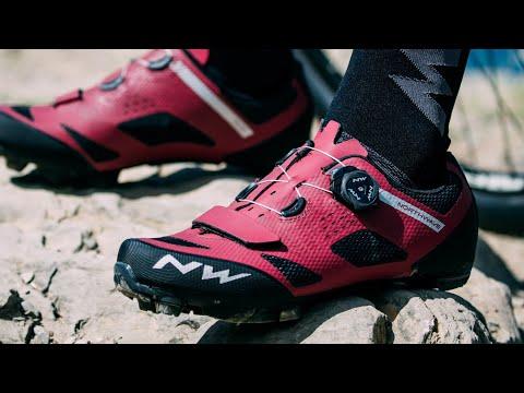 ของใหม่แกะกล่อง รองเท้าจักรยานเสือภูเขา Northwave รุ่น Razer