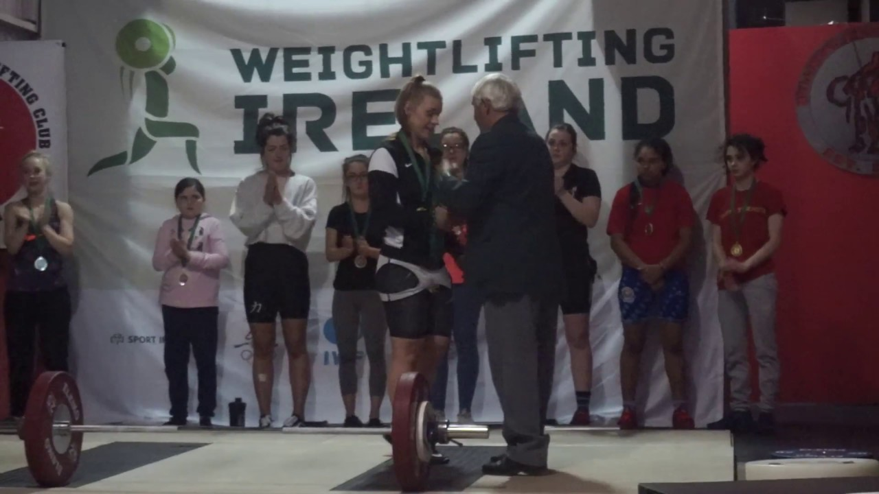 Junior and U23's Irish Weightlifting Nationals Vlog