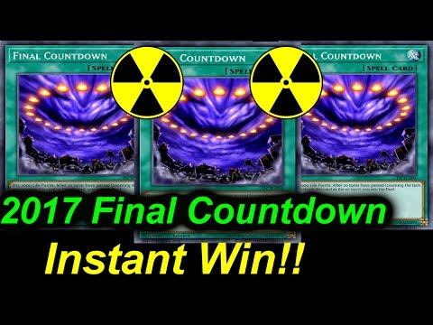 2017 Final Countdown - Instant Win!!