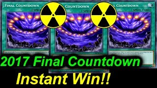 YGOPRO - Final Countdown - Instant Win!!