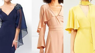 Latest Top Trendy Designer Style 2020 Of Cape Sleeves Top 25 Long Maxi Dress With Cape Sleeve Design