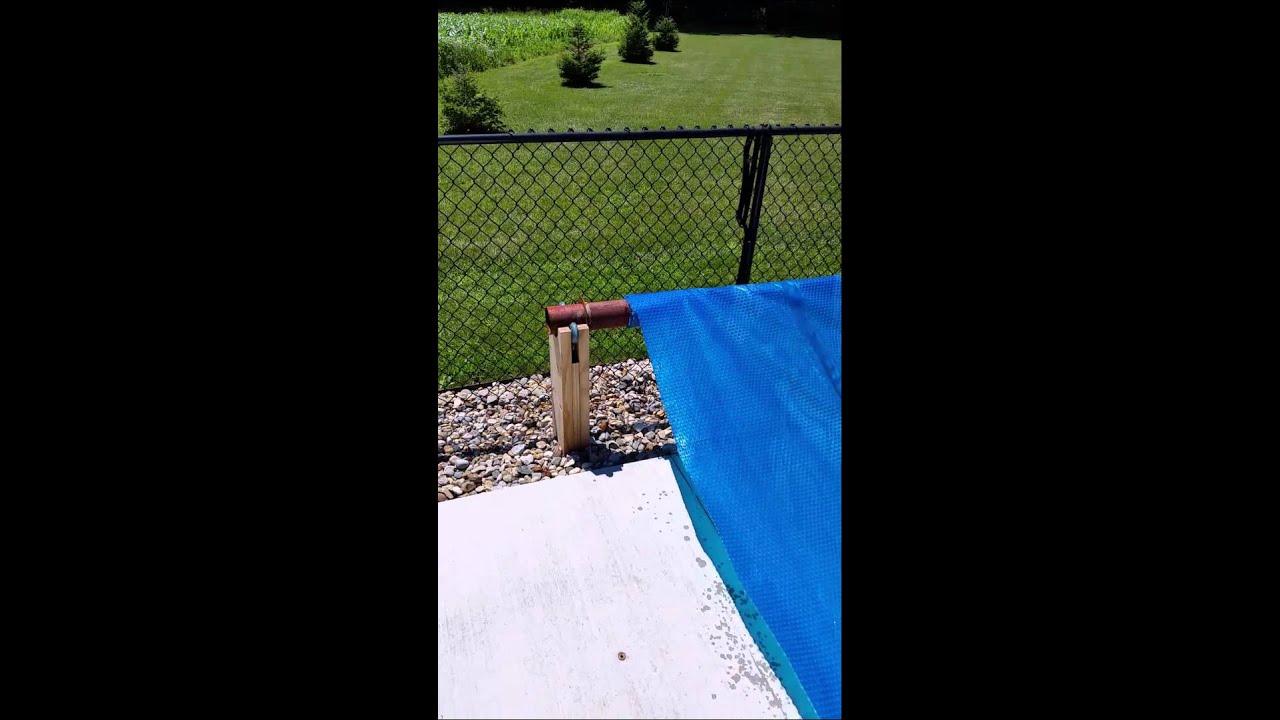 Homemade Solar Cover Reel
