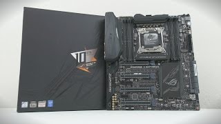 Top 10 Motherboards - ASUS ROG Rampage V Edition 10 - Mother of all Motherboards!