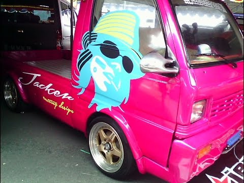 modifikasi mobil pick up jetstar terkeren modif velg cat jok dll youtube. Black Bedroom Furniture Sets. Home Design Ideas