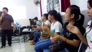 CCC Bách Khoa- Buổi đề cử nhóm trưởng- Tiết mục của Ti