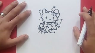 hello kitty marceline drawing lesson