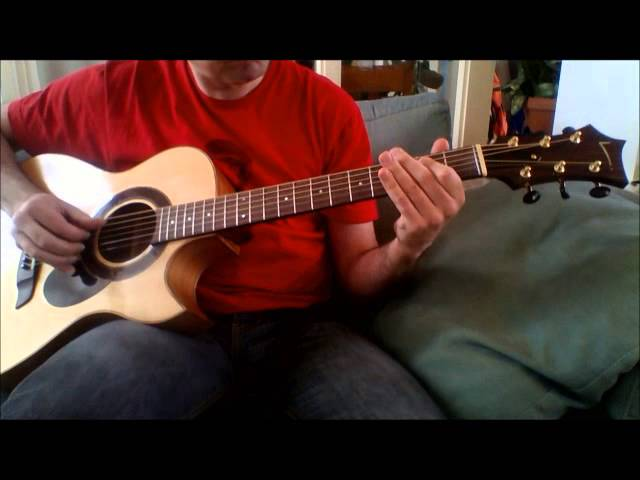 Axel F - Harold Faltermeyer (acoustic fingerstyle guitar cover)