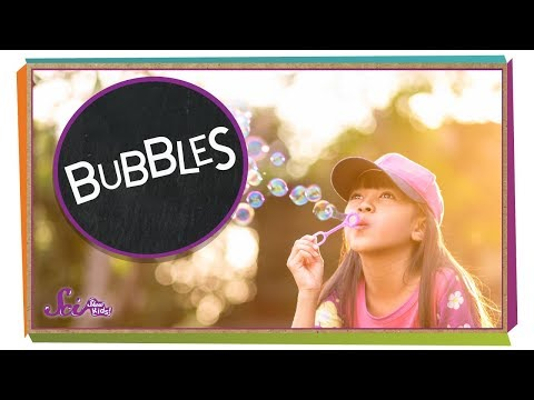Fun With Bubbles! | Physics For Kids