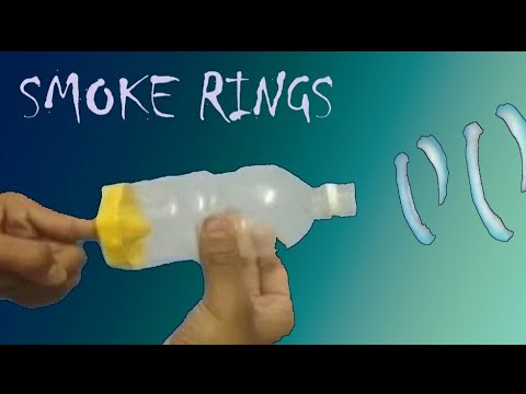 How To Make Smoke Ring With Plastic Bottle! (easy And Simple Trick)