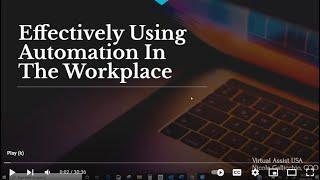Automation Webinar