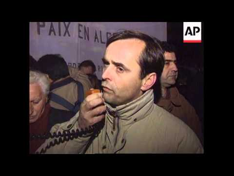 France - Rally condemning Algeria massacres