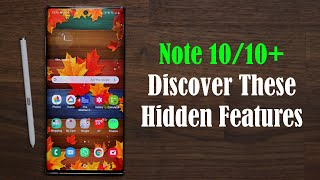 Galaxy Note 10 Plus - Top 10 Hidden and Exclusive Features (One Ui 2.0)