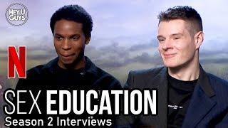 sex Education Season 2 - Kedar Williams-Stirling (Jackson) & Connor Swindells (Adam)