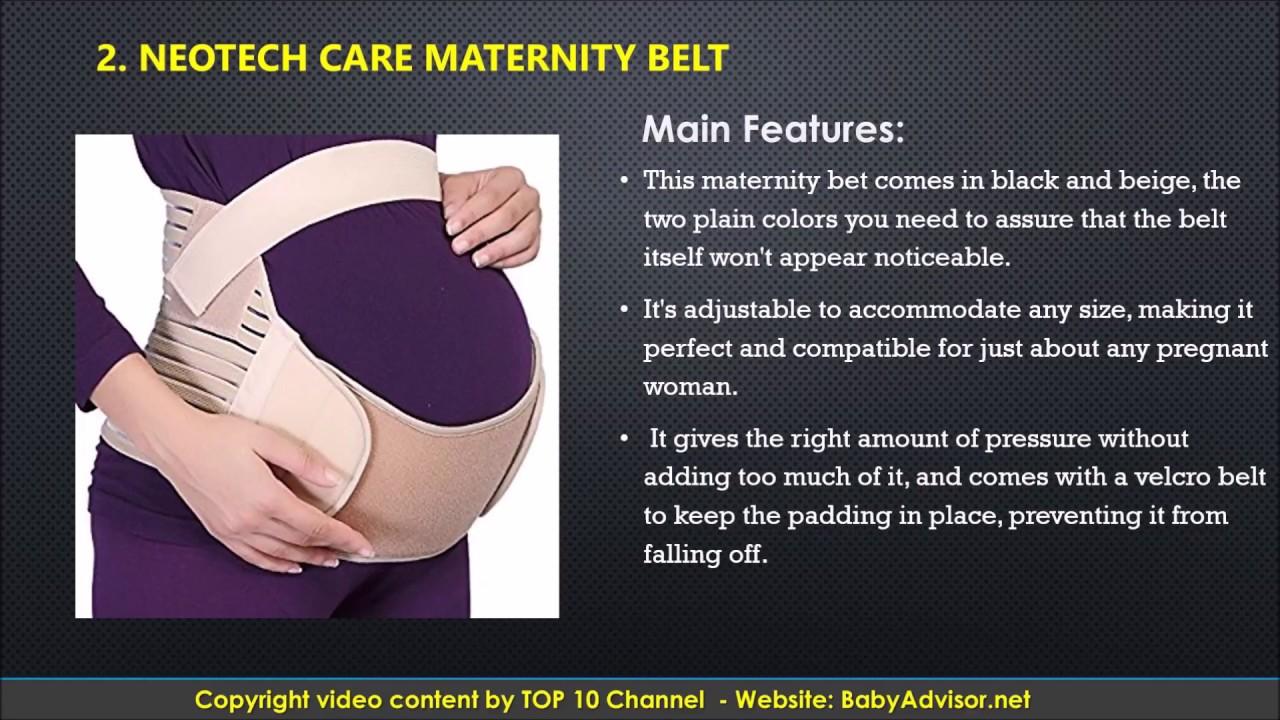 Vemingo Maternity Belt Pregnancy Support Belt Breathable Belly Band Abdominal Binder Waist//Back Support Belt One Size Adjustable