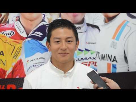 Rio Haryanto - Support Pertamina Racing Team