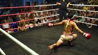 Ritual Perform Muay Thai:  Ram Muay Wai Kru
