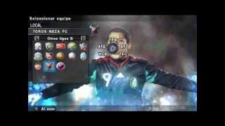 PARCHE PES 2012 PSP LIGA MX Y ASCENSO MX...PROXIMAMENTE