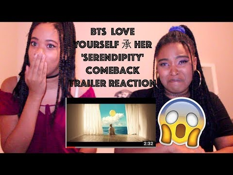 BTS  LOVE YOURSELF 承 Her 'Serendipity' Comeback Trailer Reaction