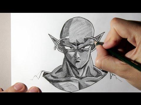 Comment dessiner piccolo de dragon ball z tape par tape youtube - Dessiner des dragons ...