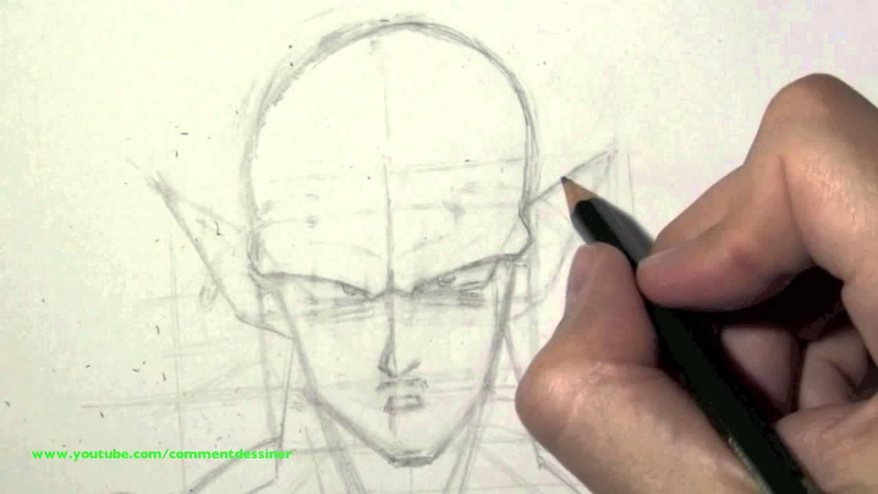 Comment dessiner piccolo de dragon ball z tape par tape - Comment dessiner trunks ...