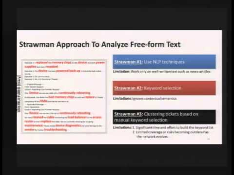2013-04-17 CERIAS - Towards Automated Problem Inference from Trouble Tickets