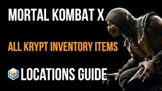 Mortal Kombat X All Krypt Inventory Items Locations Guide (Netherrealm Kamidogu)