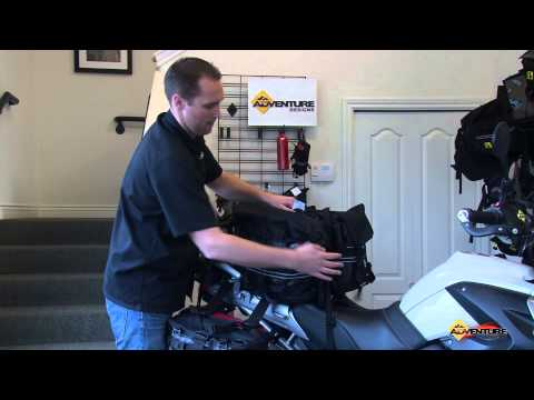 Rocky Mountain Saddle Bags by Wolfman Luggage for BMW R1200GS & F800GS Reviewed by Adventure Designs