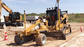 Cat 299D Compact Track Loader With Chrois Grader And Trimble ATS / UTS Demo