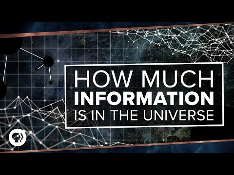 How Much Information is in the Universe?   Space Time