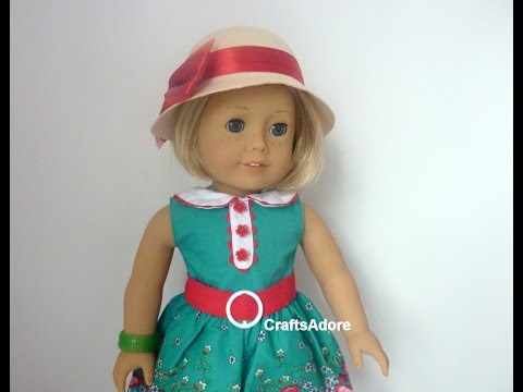 Opening American Girl Doll Kit Kittredge BeForever AG Doll with accessories ~HD PLEASE WATCH IN HD~