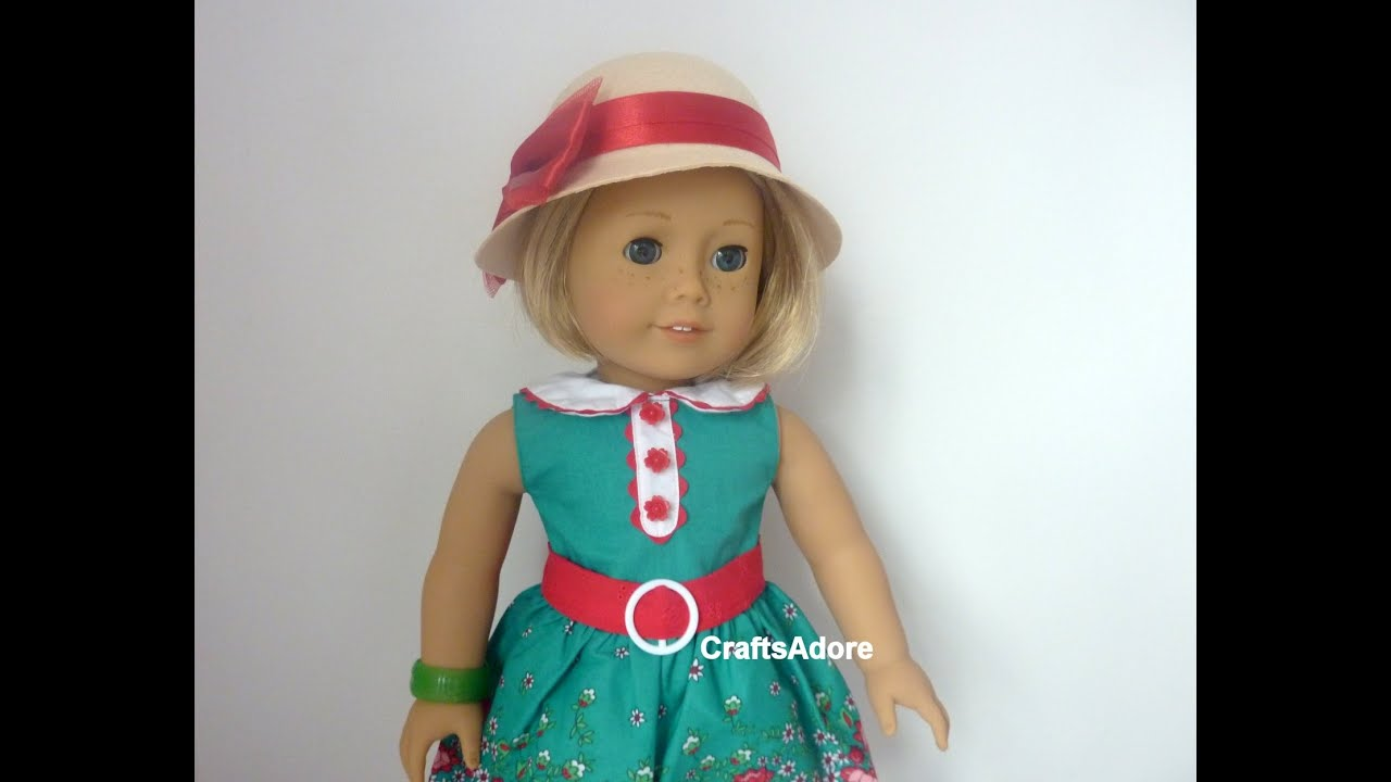 Opening American Girl Doll Kit Kittredge BeForever AG Doll with accessories ~HD PLEASE WATCH IN ...