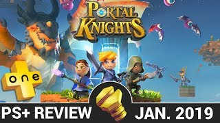portal Knights Review - PLUSone (PlayStation Plus January 2019)