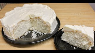 My Favorite White Cake with Michael's Home Cooking