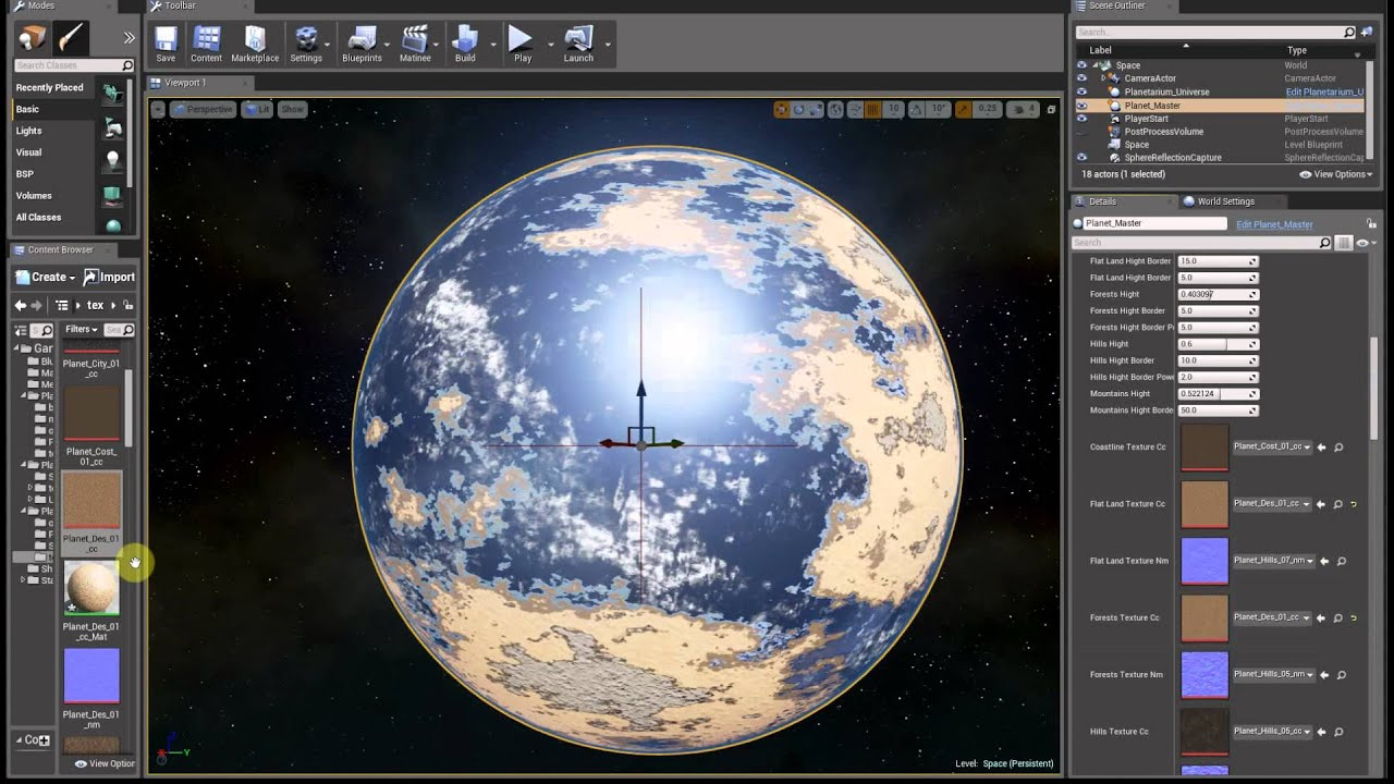 Planet in space blueprint youtube planet in space blueprint malvernweather Images