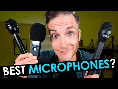 Best Microphone for Interviews —  3 Best Handheld Microphones