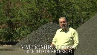 VALDOMIRO MOSTRA COMO FUNCIONA USINA DE ASFALTO