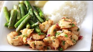 How To Make Summer Herbed Shrimp!