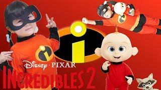 Watch a Incredible2 movie with DISNEY JACK JACK DOLL 변신 놀이 영화...