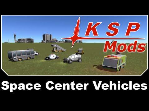 KSP Mods - KSOS: Space Center Vehicles