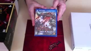 Playstation Vita Soul Sacrifice Premium Edition Console Bundle UNBOXING (Limited Edition)