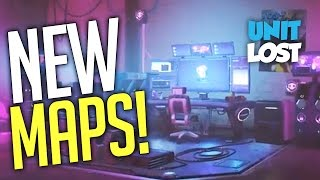 Overwatch - 3 NEW MAPS! SOMBRA HACKING ROOM MAP!
