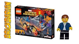 Lego Investing Set 76058 Ghost Rider Team Up!