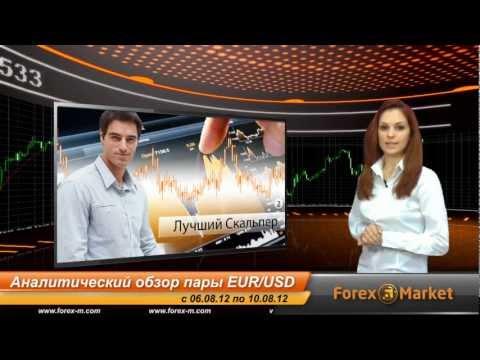 Аналитический обзор форекс пары EUR/USD с 06.08.2012 по 10.08.2012