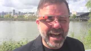 Byron Beck takes Google Glass for a stroll