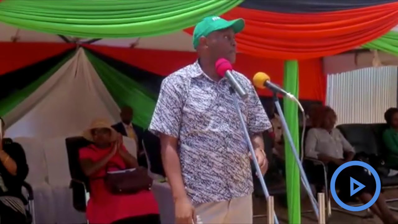 Governor Samboja on the planned relocation of Voi traders to a new market