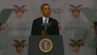 President Obama Delivers Address at 2014 West Point Commencement