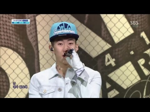 박재범 (Jay park) [JOAH (좋아)] @SBS Inkigayo 인기가요 20130414