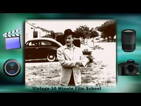 Vintage 10 Minute Film School