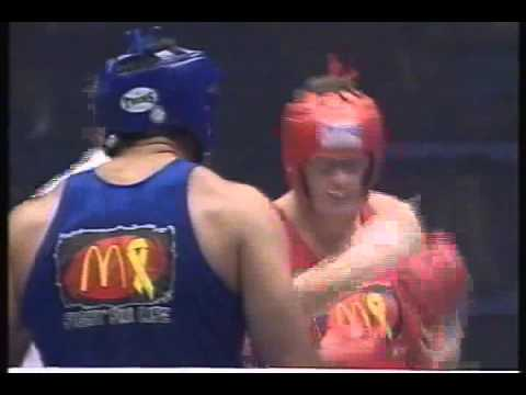 BOXING AFL vs RUGBY Mark Jacko Jackson   vs Big Mal Meninga  vhs rip